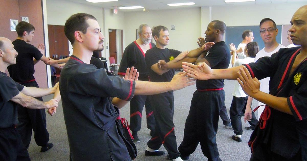 A WingTsun seminar with Great Grandmaster Leung Ting for Dynamic Martial Arts in Chicago