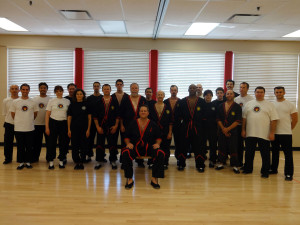 Photo: WingTsun Kung Fu Seminar, Wheeling, Illinois, June 2014, Master Will Parker, Master Mike Adams, Sifu Guerman Atanassov, Sihing Eric Galicia